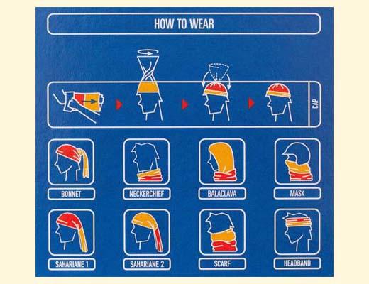 как носить бандану