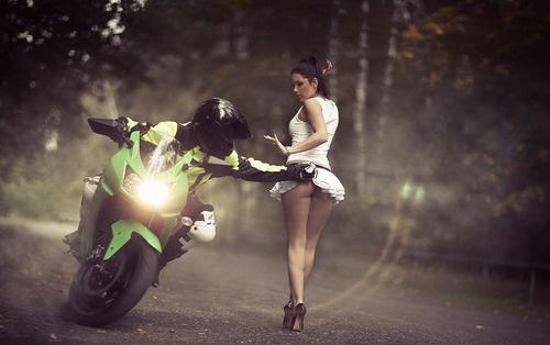 советы начинающим мотоциклистам :)