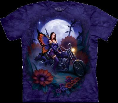 3D футболка The Mountain бабочка