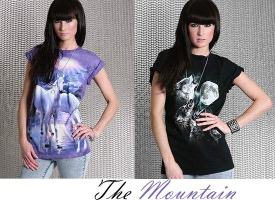 3D футболки the mountain женские