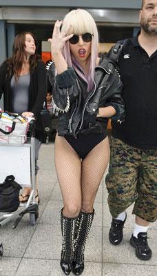 звезды в косухах - Леди Гага