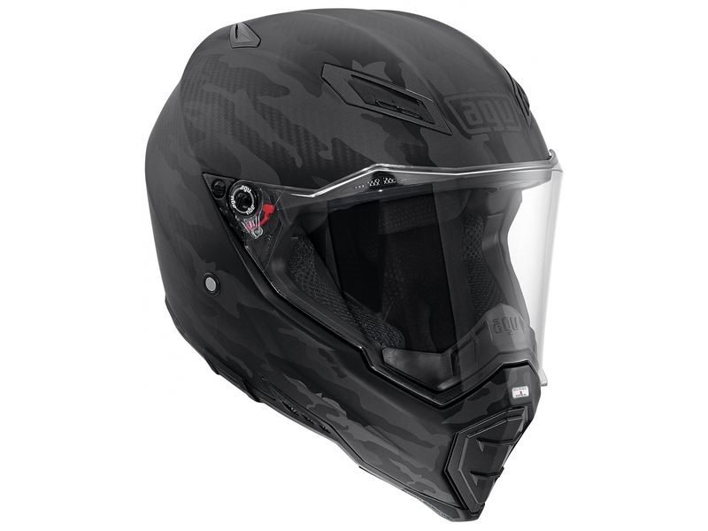 Шлем AGV АХ-8 Naked Carbon