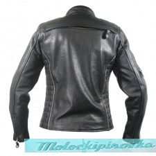 Женская мотоциклетная куртка Womens Black and Silver Multi Vented Motorcycle Jacket