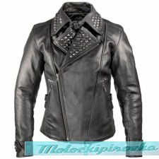 Женская мотокуртка Xelement Womens Punk Studded Biker Jacket