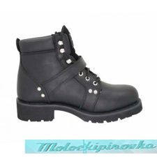 Ladies Advanced Lace-Up Xelement Motorcycle Biker Boots