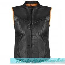 Женский мотожилет Xelement Womens Black Back Strap Vest