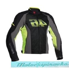 DAINESE G. VR46 AIR TEX - NERO/GIALLO-FLUO куртка текст. муж