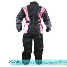 Vulcan NF-R12 Black or Pink 2-Piece Motorcycle Rainsuit