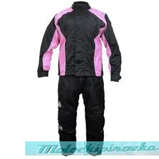 StormX Women's Two-Piece Rainsuit Black or Pink