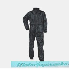 Мужской мотодождевик Storm-Prodigy Mens Two-Piece Rainsuit Black or Black