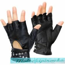 Xelement Women's Idol Fingerless Leather Gloves