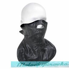Xelement XF-1365 Fleece-Lined Leather Motorcycle Face Mask