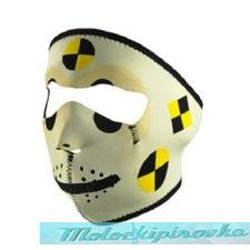 Zan Headgear Crash Test Dummy Neoprene Face Mask