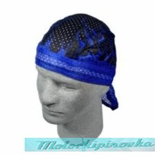 Flydanna Blue Flame Vented Polyester Mesh Bandanna