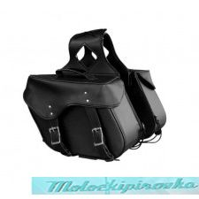 Xelement SH55201ZB Medium PVC Zip-Off Saddlebags