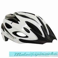 Vulcan Premium Multi Sport Black-White Bicycle Helmet