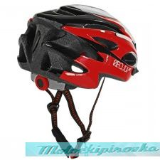 Vulcan Premium Multi Sport Red-White Bicycle Helmet