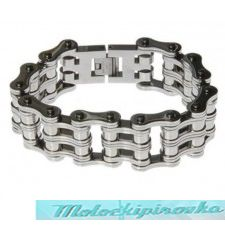 Motorcycle Bike Chain 10 Inch Bracelet