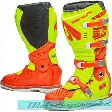 Мотоботы Forma Terrain TX, yellowfluo-orange