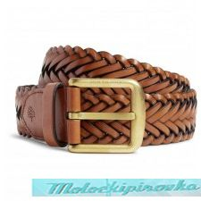 Brown Weave Belt