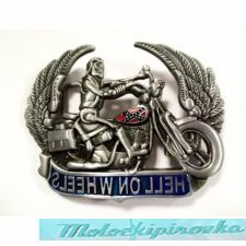 Hell On Wheels Buckle