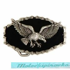Rebel Flying Eagle Belt Buckle