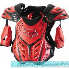 FOX Raceframe red M