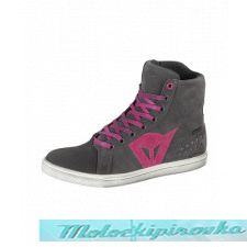 DAINESE STREET BIKER LADY D-WP SHOES - ANTHRACITE/FUCHSIA ботинки жен 40