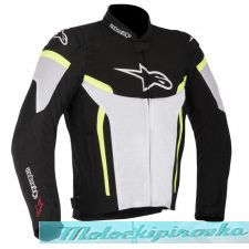 ALPINESTARS T-GP Plus Air Jacket бело-чёрная XL