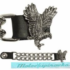 Motorcycle Flying Eagle Leather Vest Extender