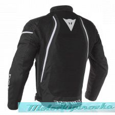 DAINESE AIR CRONO 2 TEX JACKET - BLACK/BLACK/WHITE куртка тек муж 52
