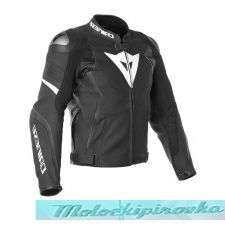 DAINESE AVRO 4 LADY LEATHER JACKET - BLACK-MATT/ANTHRACITE/WHITE куртка кож жен 42