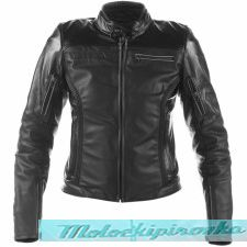 DAINESE AVRO 4 LADY LEATHER JACKET - BLACK-MATT/WHITE/FUCSIA куртка кож жен 40