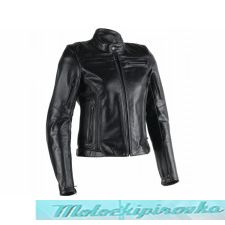 DAINESE AVRO 4 LADY LEATHER JACKET - BLACK-MATT/WHITE/FUCSIA куртка кож жен 42