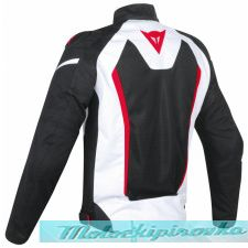 DAINESE HYDRA FLUX D-DRY JACKET - BLACK/RED/WHITE куртка муж 54