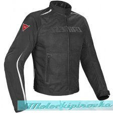 DAINESE HYDRA FLUX D-DRY JACKET - BLACK/WHITE/RED куртка муж 48