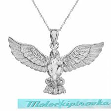 Eagle With Snake Choker Necklace