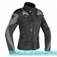 DAINESE TEMPEST 2 D-DRY JACKET - BLACK/BLACK/TOUR-RED куртка текст 50