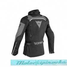 DAINESE TEMPEST 2 D-DRY JACKET - BLACK/BLACK/TOUR-RED куртка текст 58
