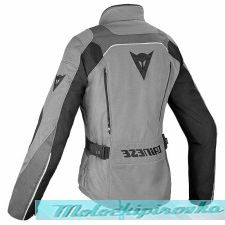 DAINESE TEMPEST 2 LADY D-DRY JACKET - LIGHT-GRAY/BLACK/TOUR-RED куртка тек жен 40