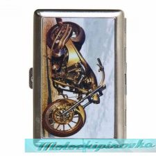 Gold Chopper Cigarette Case