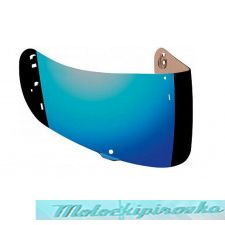Стекло (визор) VISOR ST701/VALOR MIRRORED BLUE