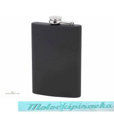 Matte Black 8 oz. Stainless Steel Flask