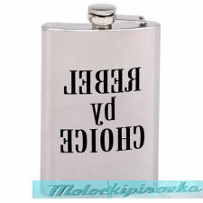 REBEL by CHOICE 8 oz. Stainless Steel Flask