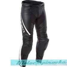DAINESE ASSEN LADY LEATHER PANTS - BLACK/ANTHRACITE брюки кож 42