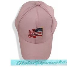 Classic Unisex Leather Baseball Cap with Embroidered USA Flag