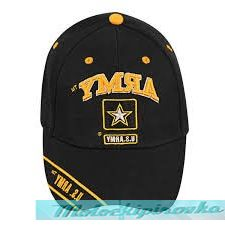 Officially Licensed Army Star Embroidered Black Military Hat