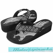 Xelement Womens Stud Eagle Sandals