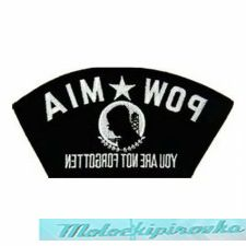 Officially Licensed POW MIA Military 5 in. Patch