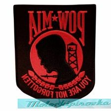 Officially Licensed POW MIA Military Patch